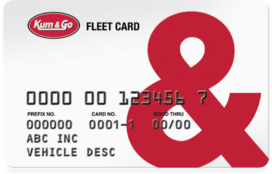 Kum & Go Fleet Card